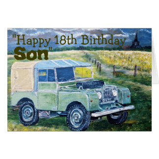 18 años de tarjeta de cumpleaños