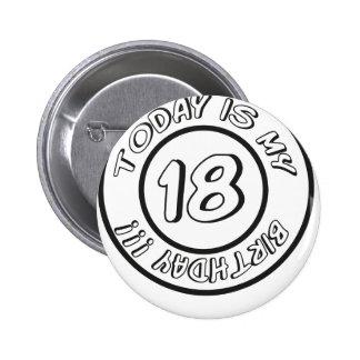 18 BIRTHDAY PIN