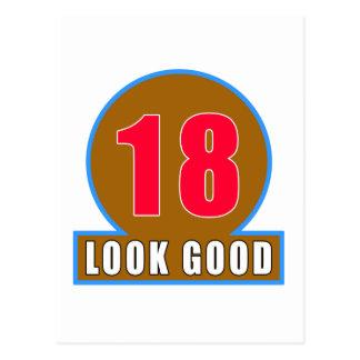 18 buenos diseños del cumpleaños de la mirada postal