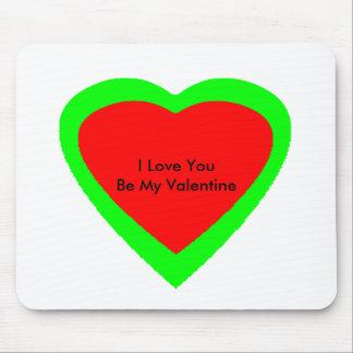 18 corazones del color usted elige jGibney del Alfombrilla De Ratón
