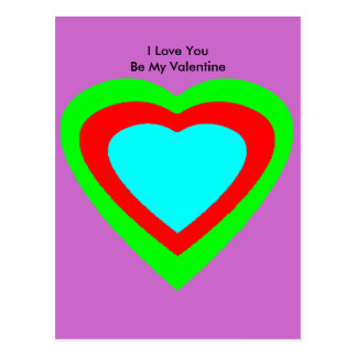18 corazones del color usted elige jGibney del Postal