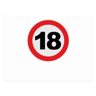 18 Cumpleaños Postales