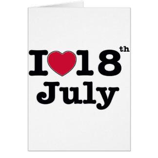18 de julio mi día de cumpleaños