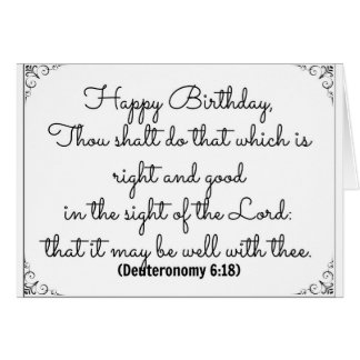18 de junio tarjeta de cumpleaños de la biblia con