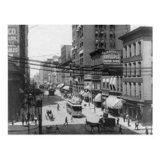 1903 4ta postal del St St. Louis Missouri