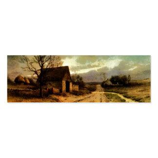 1912) graneros de noviembre Twilight (y señales de Tarjetas De Visita Mini