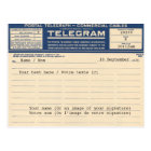 1920 Postal de Telegram (Postcard)
