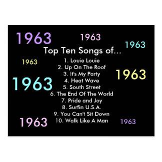 1963 canciones postal