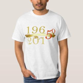 1965 - camiseta conmemorativa 2015 50