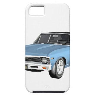 1968 coches azules claros del músculo funda para iPhone SE/5/5s