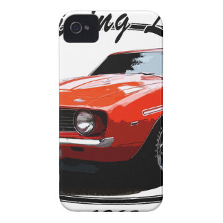1969_camaro_yenko_orange carcasa para iPhone 4 de Case-Mate