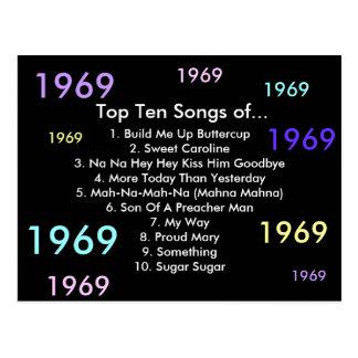 1969 canciones postal