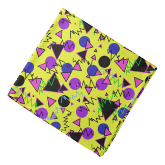 1990 geométricos intrépidos bandana