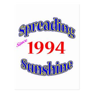 1994 soles de extensión postal
