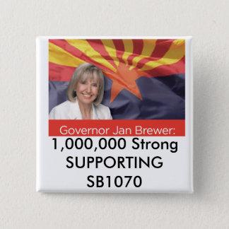1.000.000 SB1070 FAVORABLES fuertes Chapa Cuadrada