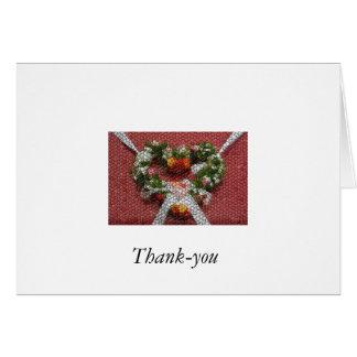 1-12209787651m90, de agradecimiento tarjeta de felicitación