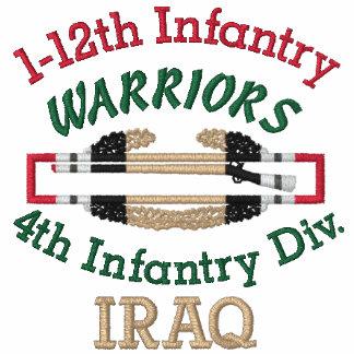 1-12mo Inf. Camisa de la insignia del soldado de