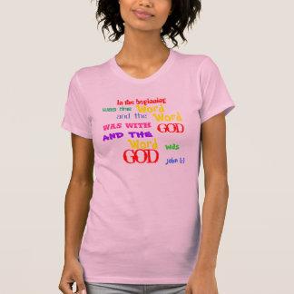 ¡1:1 de Juan la palabra era dios! Camisas