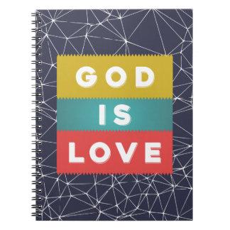 1 4:8 de Juan - dios es amor Cuaderno