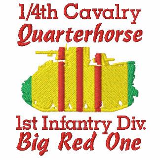 1/4 caballería, 1ros Inf. Div. Polo de la pista M1