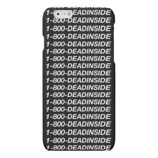 1-800-Dead dentro del caso del Grunge del iPhone
