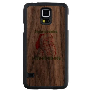 1-900-Ho-Ho-Hos Funda De Galaxy S5 Slim Nogal