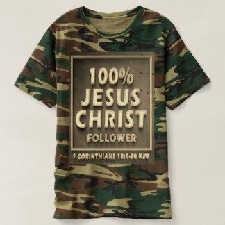 1 camiseta del camuflaje de los hombres de los