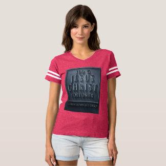 1 camiseta del fútbol de las mujeres de los