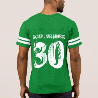 1 camiseta del fútbol de los hombres de los