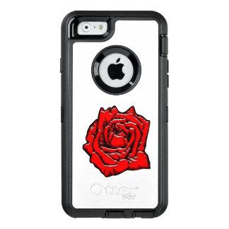 #1 color de rosa funda OtterBox defender para iPhone 6