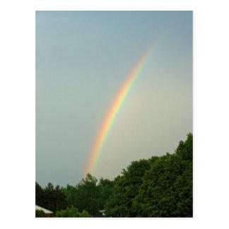 1 corazón. Postal del arco iris del 2:9