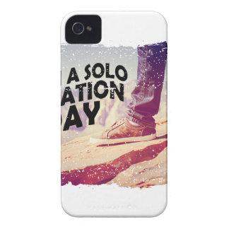 1 de marzo - planee un día de vacaciones a solas funda para iPhone 4 de Case-Mate
