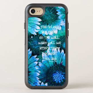 #1 florales - Caso de la simetría del iPhone 7 de Funda OtterBox Symmetry Para iPhone 8/7