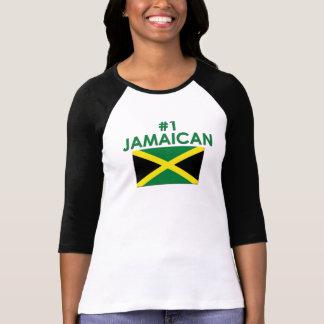 #1 jamaicano camisetas