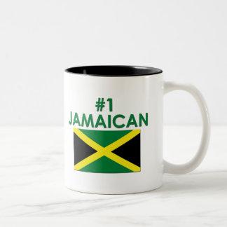 #1 jamaicano taza de dos tonos