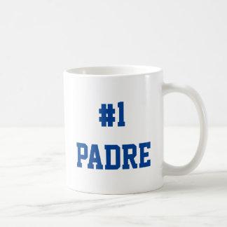 #1 Padre - regalo para el día del padre Taza De Café