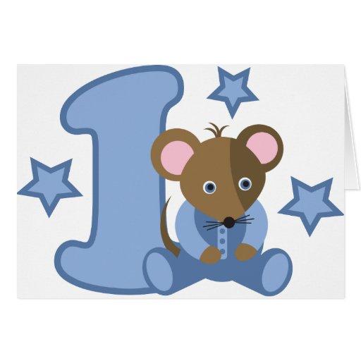 1 regalo de cumplea os del rat n del beb del a o - Cumpleanos de bebes ...