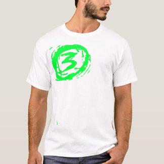 1 tridimensional camiseta