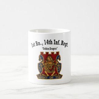 """1r Batallón, 14ta taza de los """"dragones de oro"""" de"""