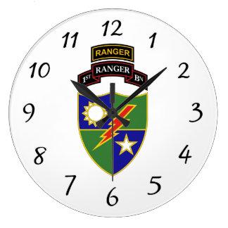 1r batallón - 75.o guardabosques w/Tab - reloj de