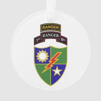 1r batallón - 75.o ornamento del guardabosques