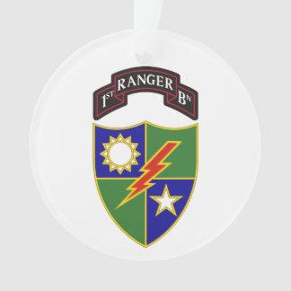 1r batallón - 75.o ornamento del regimiento de