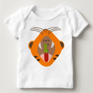 1r Camisa del rugido del tigre del cumpleaños