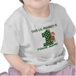 1r Camisa personalizada mono del muchacho del cump