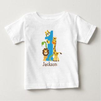 1r Camiseta de la selva del cumpleaños