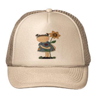 1r cumpleaños de la margarita gorras de camionero