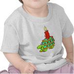1r cumpleaños feliz (tortuga) camiseta