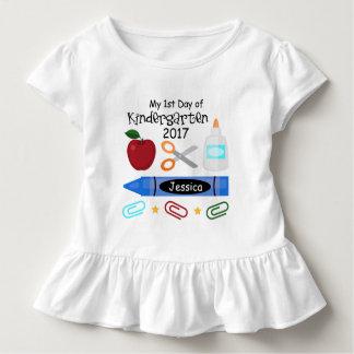 1r Día de camiseta de la camiseta de la guardería
