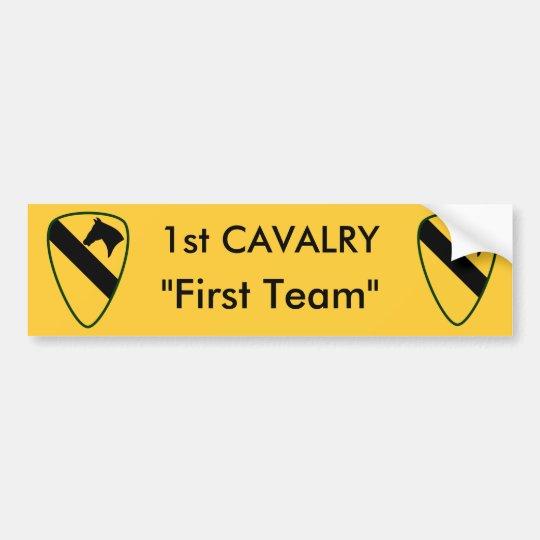 1r División del Calvary Pegatina Para Coche