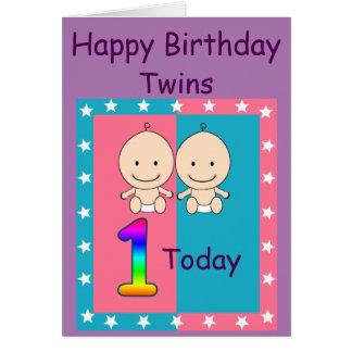 1r El cumpleaños hermana personalizado Tarjeta